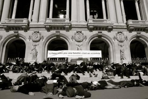 Flash Mob Les recettes du scandale - CCFD-Terre Solidaire 2