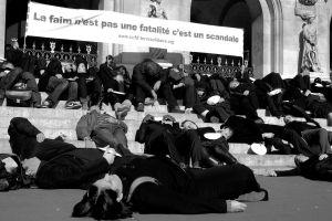 Flash Mob - Les recettes du scandale CCFD-Terre Solidaire
